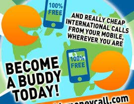 #31 for Design an Advertisement for our BuddyCall app by KairosSNC
