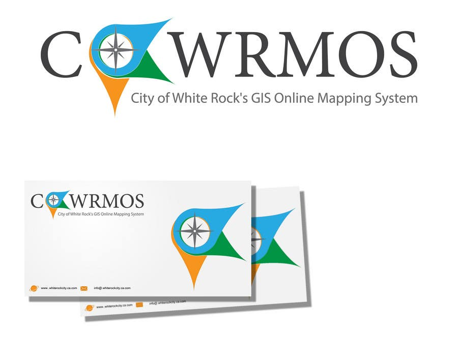 Penyertaan Peraduan #                                        37                                      untuk                                         Logo Design for City of White Rock's GIS Online Mapping System