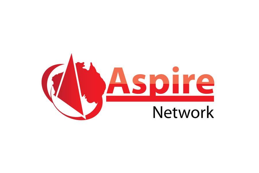 Penyertaan Peraduan #521 untuk Logo Design for ASPIRE Network