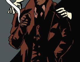 #8 untuk Horror Noir Detective Illustration oleh nathanhuang
