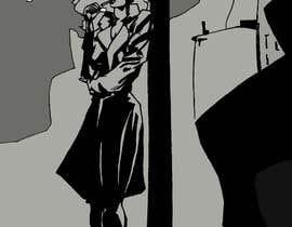 #41 untuk Horror Noir Detective Illustration oleh Yasuiwain