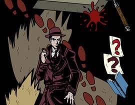 #37 untuk Horror Noir Detective Illustration oleh khoiruunisa