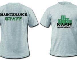Nro 18 kilpailuun Design a T-Shirt for Apartment Maintenance Staff käyttäjältä asuragod