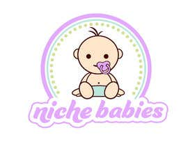 #120 for Niche Babies Logo by anazvoncica