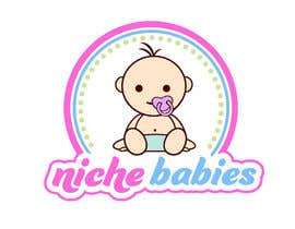 #144 for Niche Babies Logo by anazvoncica