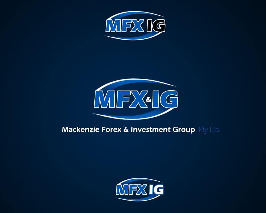 Konkurrenceindlæg #                                        75                                      for                                         Logo Design for Mackenzie Forex & Investment Group Pty Ltd