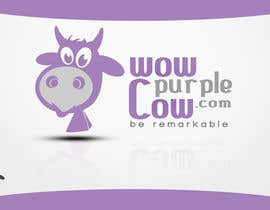 rogeliobello tarafından WOW! Purple Cow - Logo Design for wowpurplecow.com - Lots of creative freedom, Guaranteed Winner! için no 167