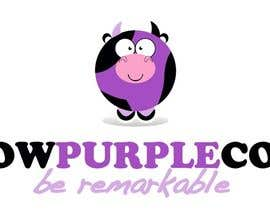 #126 untuk WOW! Purple Cow - Logo Design for wowpurplecow.com - Lots of creative freedom, Guaranteed Winner! oleh LouSharp