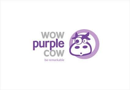 Bài tham dự cuộc thi #25 cho WOW! Purple Cow - Logo Design for wowpurplecow.com - Lots of creative freedom, Guaranteed Winner!