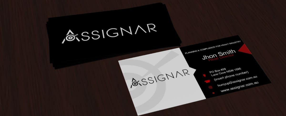 Entry 18 By Carolinasantos93 For Create Single Sided Business Card