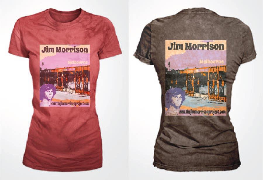 Penyertaan Peraduan #                                        20                                      untuk                                         T-shirt Design for www.TheJimMorrisonProject.com