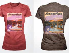 #20 для T-shirt Design for www.TheJimMorrisonProject.com от R4d0j3