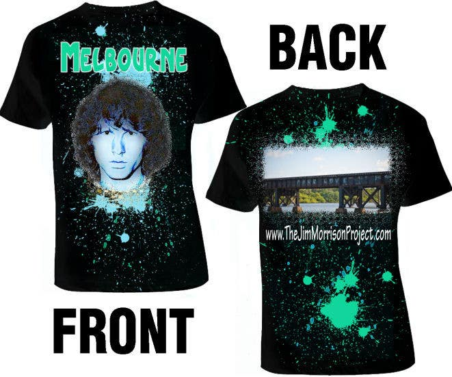 Penyertaan Peraduan #                                        69                                      untuk                                         T-shirt Design for www.TheJimMorrisonProject.com