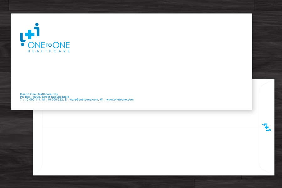 Contest Entry #                                        41                                      for                                         Simple stationary for One to One Healthcare