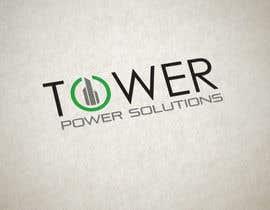 fireacefist tarafından Design a Logo for Tower Power Solutions için no 97