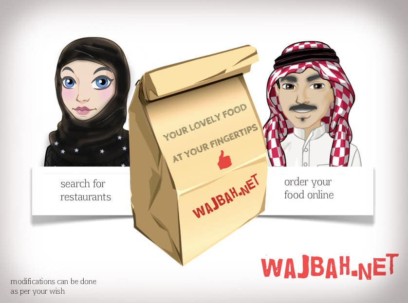 Contest Entry #                                        4                                      for                                         Logo Design for Character Logo for Takeaway Website