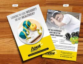 #39 para Design a small flyer for weight loss to leave at shop counters por decorusads