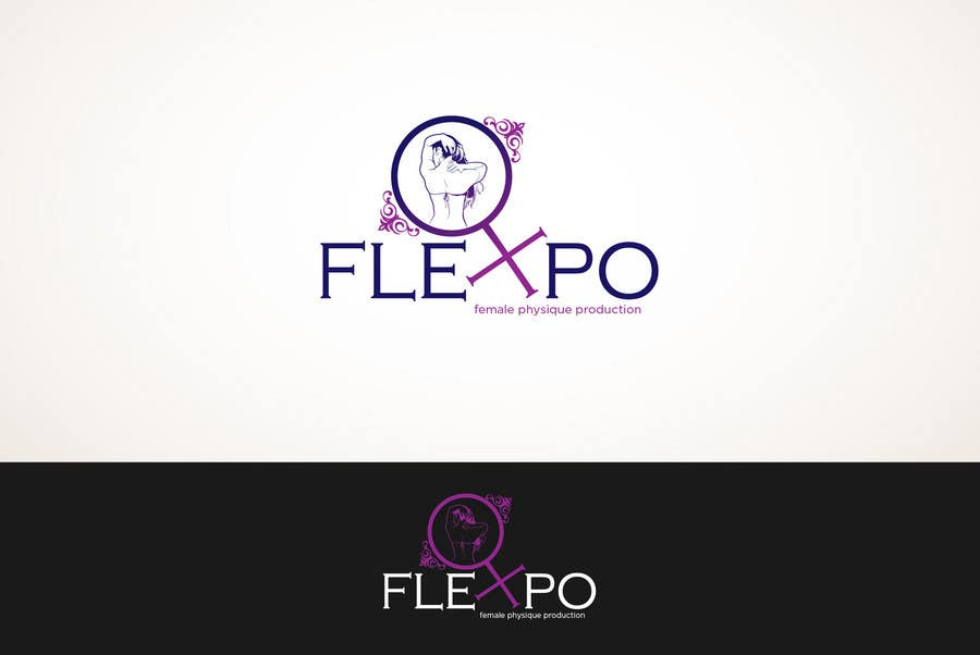 Contest Entry #118 for Logo Design for Flexpo Productions - Feminine Muscular Athletes