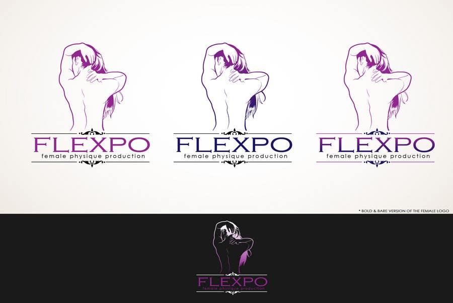 Inscrição nº                                         121                                      do Concurso para                                         Logo Design for Flexpo Productions - Feminine Muscular Athletes