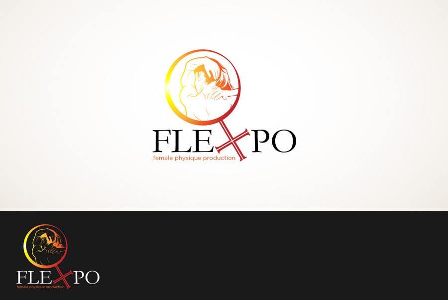 Inscrição nº                                         156                                      do Concurso para                                         Logo Design for Flexpo Productions - Feminine Muscular Athletes
