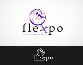 #177 untuk Logo Design for Flexpo Productions - Feminine Muscular Athletes oleh Glukowze