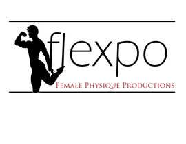 #134 untuk Logo Design for Flexpo Productions - Feminine Muscular Athletes oleh stephen66
