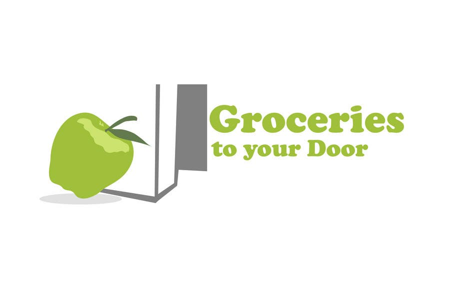 Entri Kontes #358 untukLogo Design for Groceries To Your Door