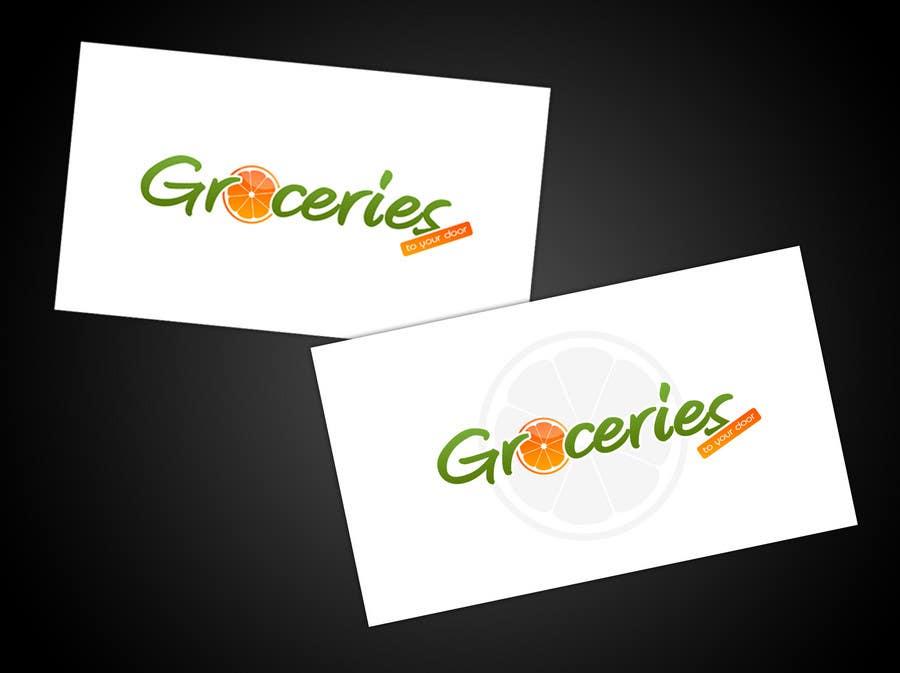 Entri Kontes #194 untukLogo Design for Groceries To Your Door