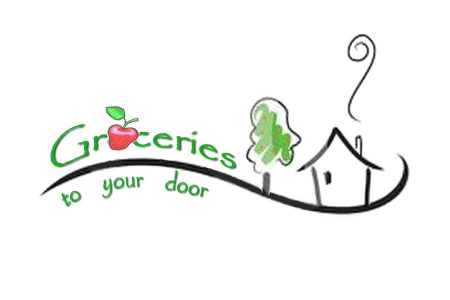 Entri Kontes #205 untukLogo Design for Groceries To Your Door