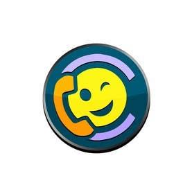 Image of                             make logo 3D button like