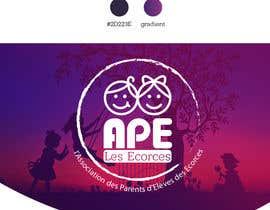 nº 19 pour Logo pour l'association des parents d'élèves des Ecorces (APE) par grumezaeugen