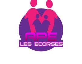 nº 21 pour Logo pour l'association des parents d'élèves des Ecorces (APE) par DjIloveDESIGN