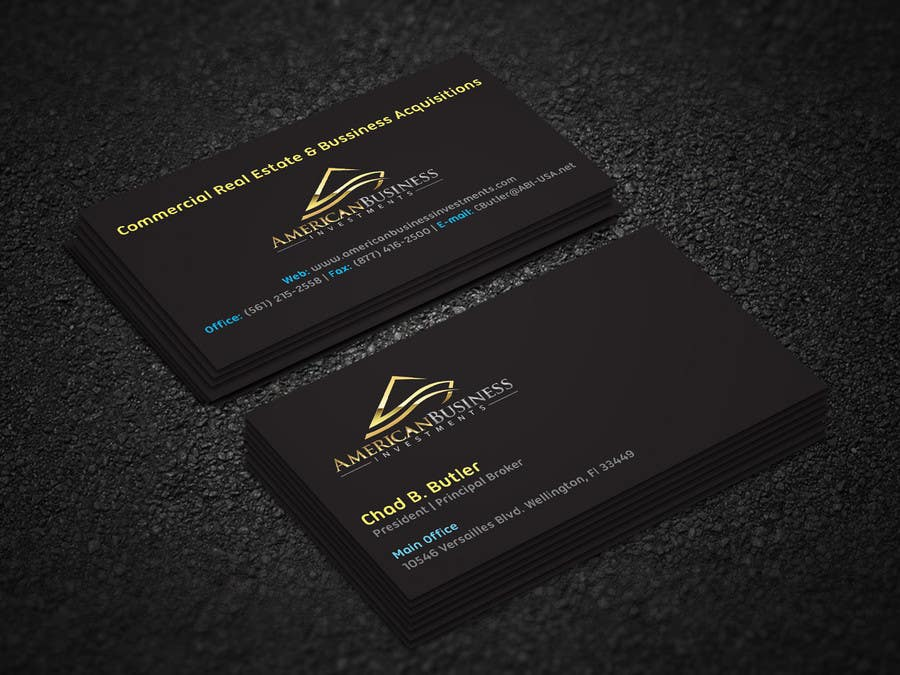 Entry 40 by shorowar for business card quick pro design logo business card quick pro design logo included reheart Images