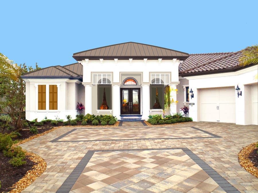 Bài tham dự cuộc thi #                                        27                                      cho                                         Photoshop Design for Home Exterior