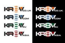 Graphic Design Inscrição do Concurso Nº210 para Logo Design for KR8V - a Brand for International Creative Industries Professionals