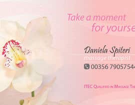 nº 28 pour Deisgn Business Cards for Massage Therapy par karinamvboas