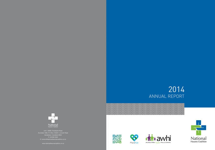 Design an Annual Report Template for Healthcare NGO – Annual Reports Templates