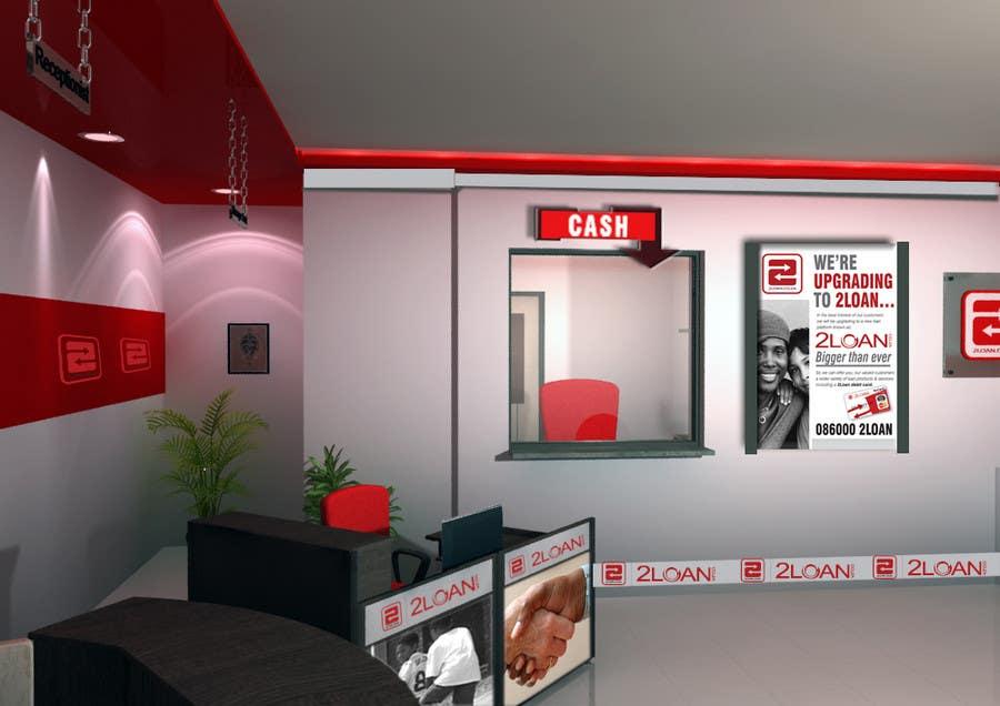 Bài tham dự cuộc thi #                                        80                                      cho                                         Advertisement Design for 2Loan.co.za Shopfront Mockup & Marketing Material Design