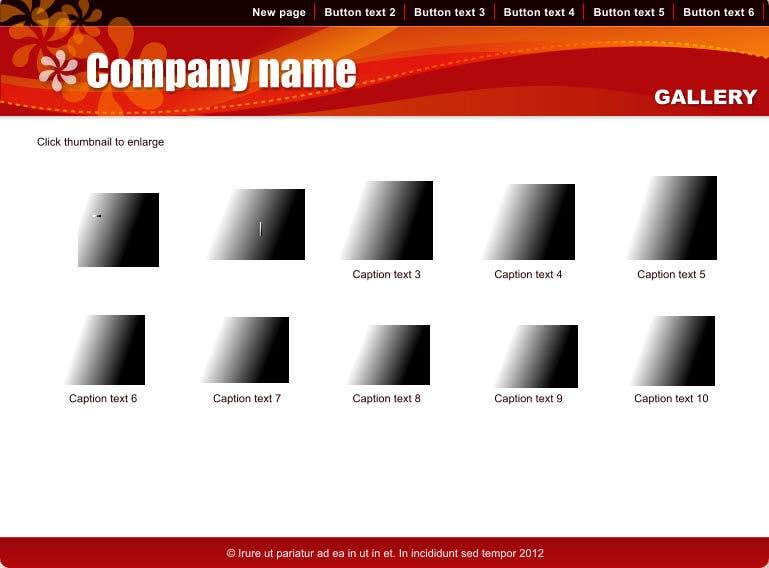 Inscrição nº                                         8                                      do Concurso para                                         Ontwerp een Website Mockup for mark / label