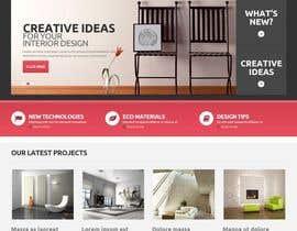 #7 para Ontwerp een Website Mockup for mark / label por getakash1
