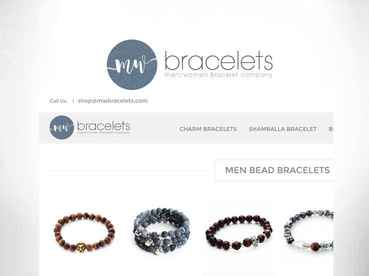 Logo Men Women Bracelet Website