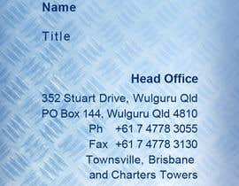 #90 cho Business Card Design for Wulguru Group - incorporates Wulguru Steel & Archimedes Engineering bởi PPG9773