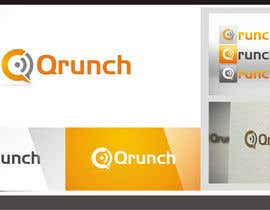 nº 325 pour Logo Design for Qrunch par kristi4n
