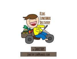 #2 para Design a Kids lunchbox delivery logo por Janithy