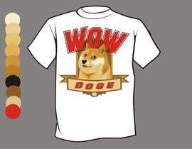 nº 29 pour Design a T-Shirt for a MEME (Doge meme) wow par artist4