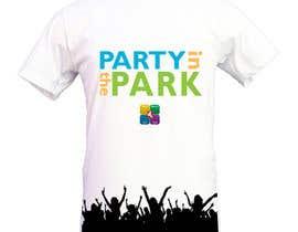 caspercham tarafından Design a T-Shirt for Party in the Park için no 18