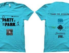 Aravindov tarafından Design a T-Shirt for Party in the Park için no 21