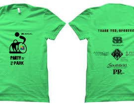 Aravindov tarafından Design a T-Shirt for Party in the Park için no 26