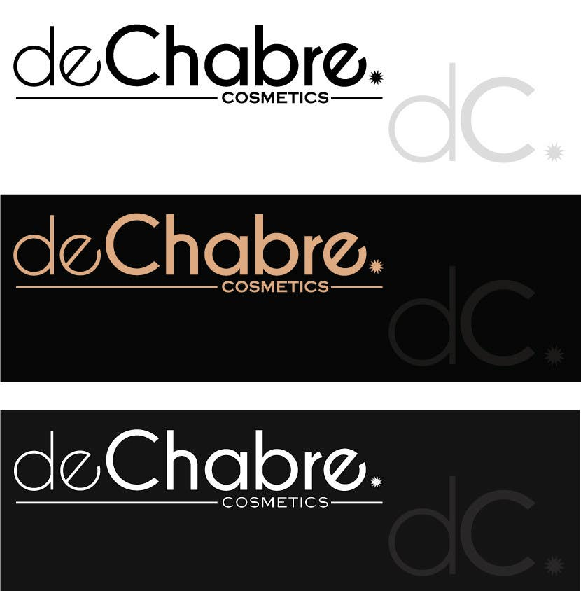 Inscrição nº 174 do Concurso para Logo Design for deChabre Cosmetics