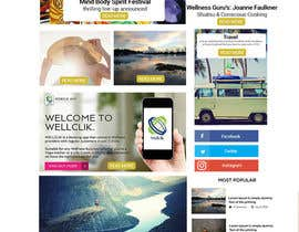 Nro 14 kilpailuun Website redesign käyttäjältä dymetrios